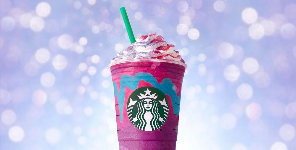 #UnicornFrapuccino Ejemplo marketing de guerrilla