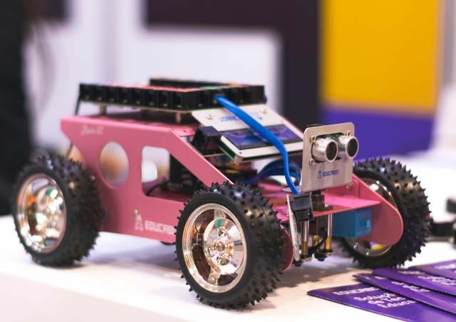 Robots manejados por Rasbperry PI
