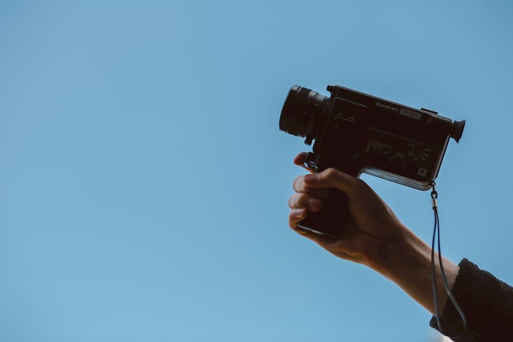 Imagen de una cámara de grabación