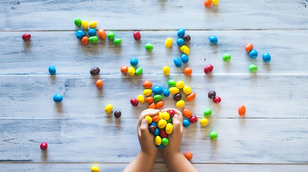 Las 4 P del marketing Caramelos