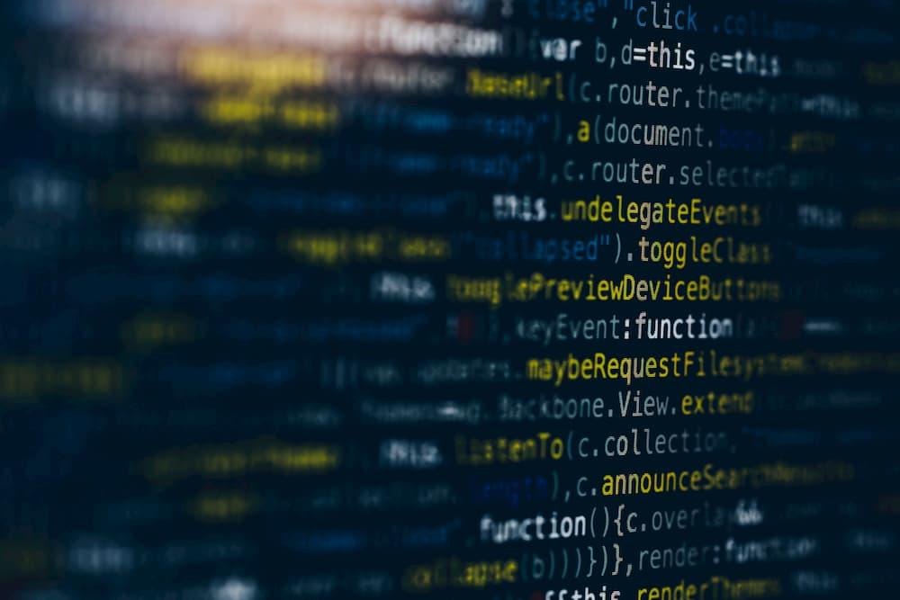Imagen de código de programación, relacionado con .htaccess