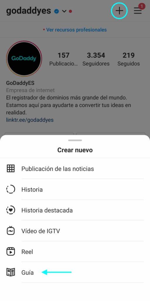 Guías de Instagram paso a paso