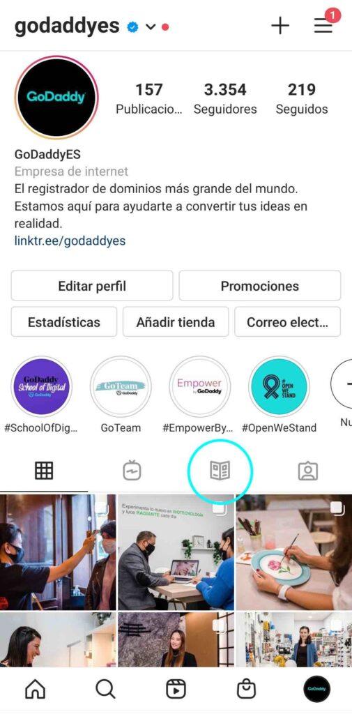 Cómo ver una guía de Instagram
