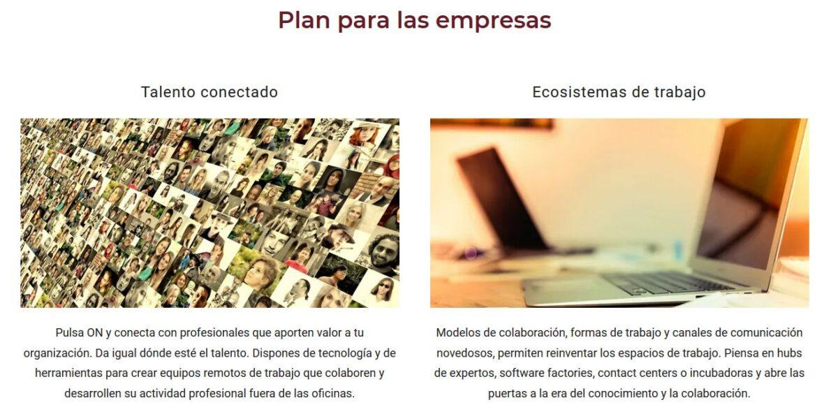 Imagen del proyecto para empresas que plantea la web de eCautiva.