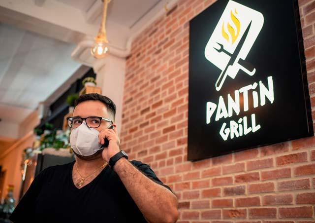 Cómo creó su web la hamburguesería Pantin Grill