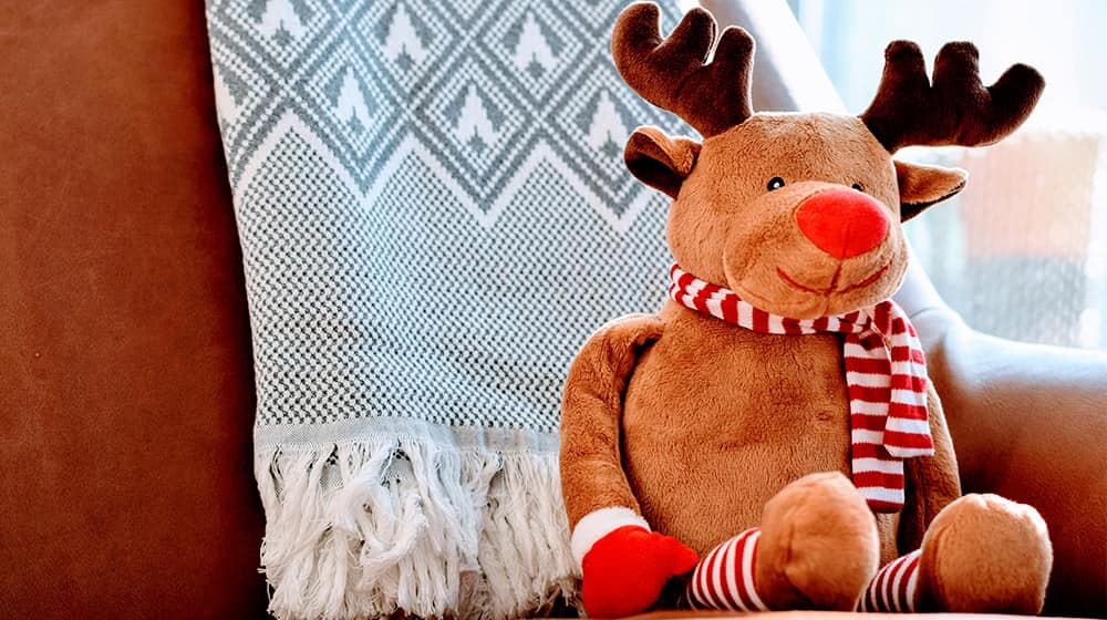 Peluche reno Navidad
