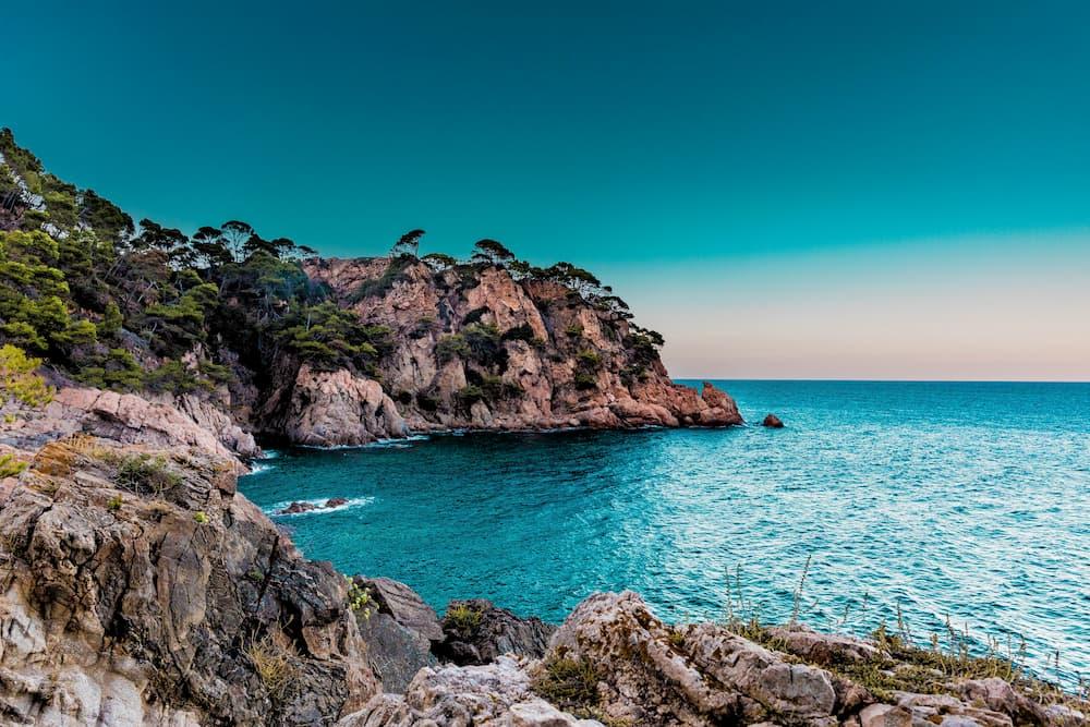 Imagen de una playa en la costa de España.
