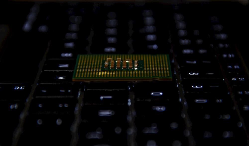 Imagen del procesador de un ordenador