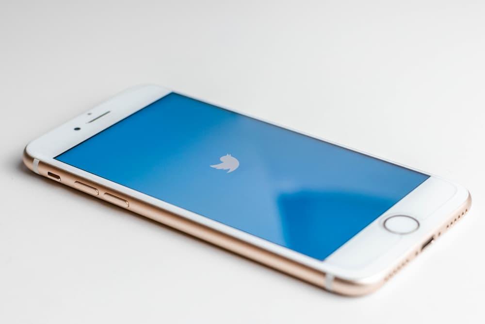 Imagen de la pantalla de carga de Twitter en un smartphone