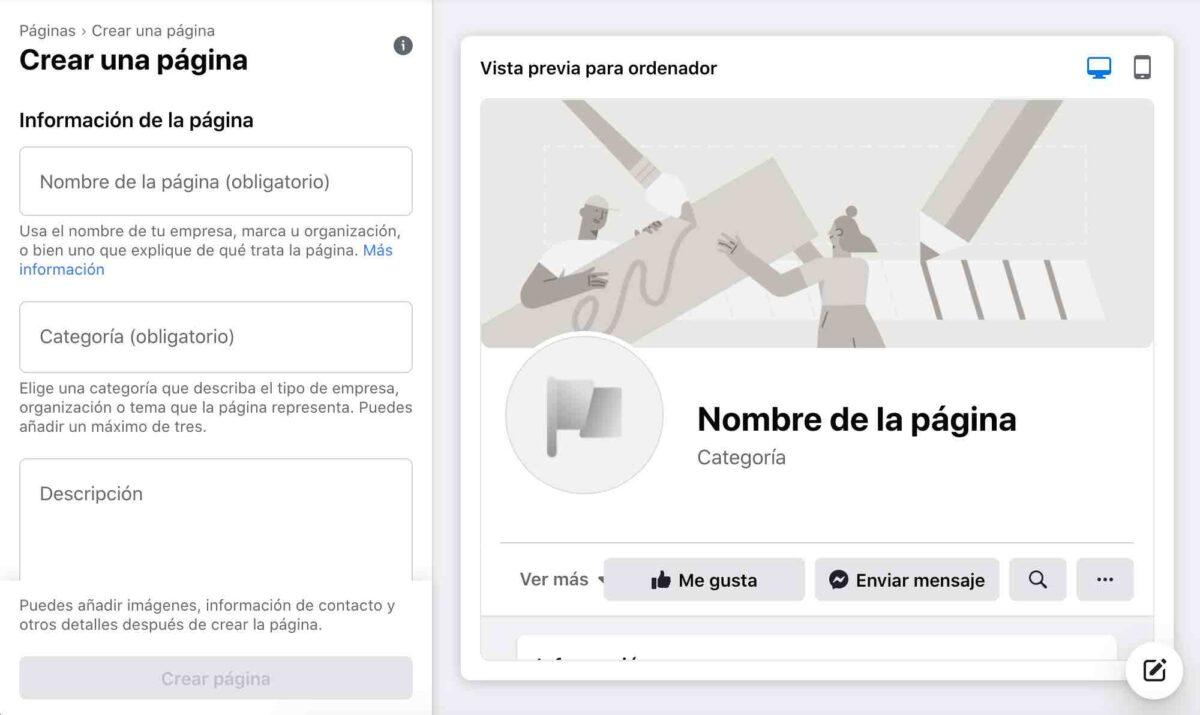 Cómo crear un perfil para Facebook Ads