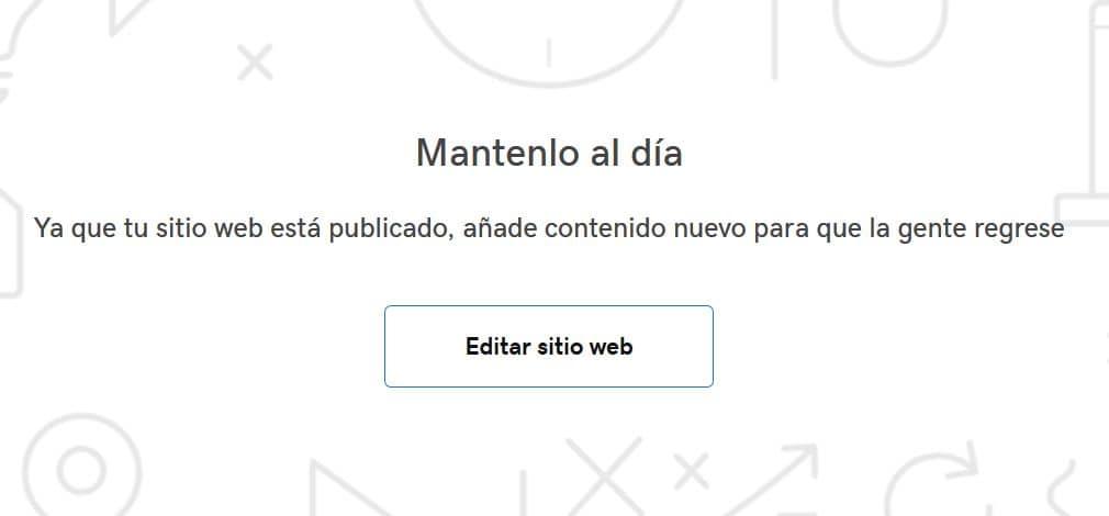 Editar web