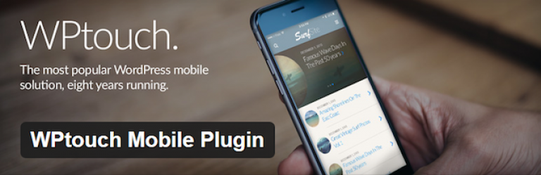 plugin WPtouch Mobile