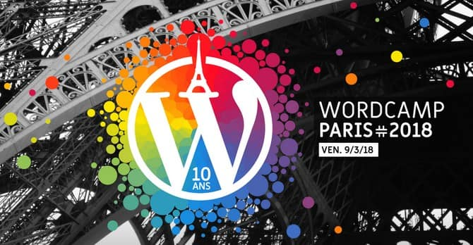 Imagen WordCamp París 2018