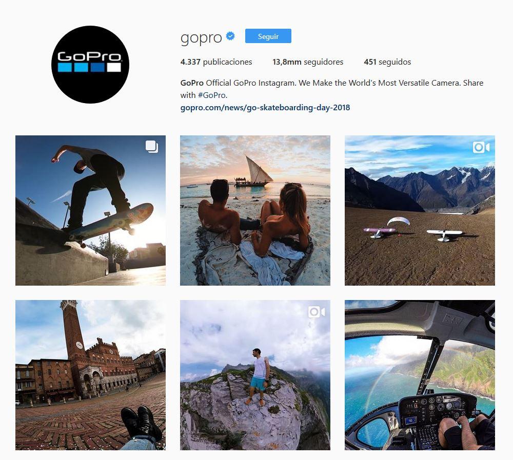 cámaras GoPro