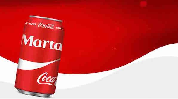 Campaña comparte una Coca-Cola