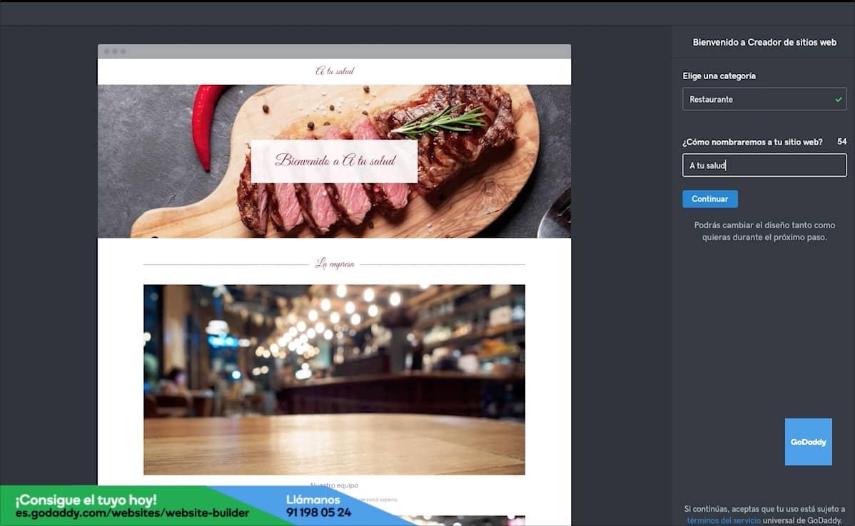 Cómo hacer la página web de tu restaurante: Paso 1
