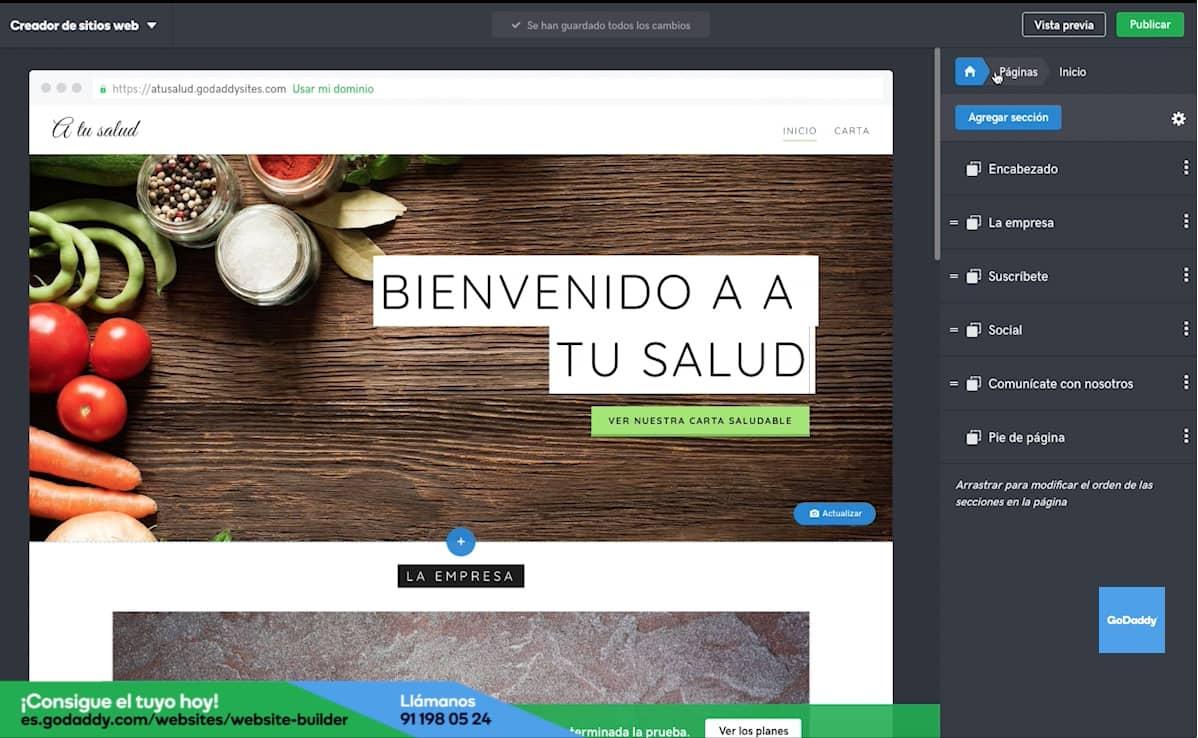 Cómo hacer la página web de tu restaurante: Paso 8
