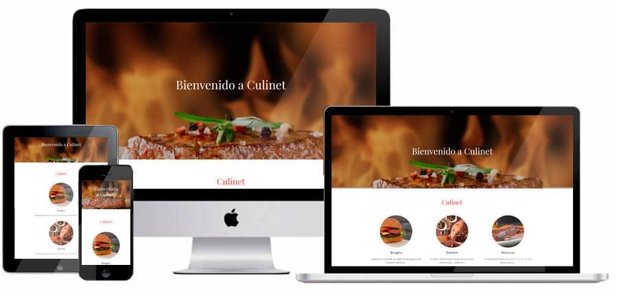 Crear una web responsive con el Creador de sitios web