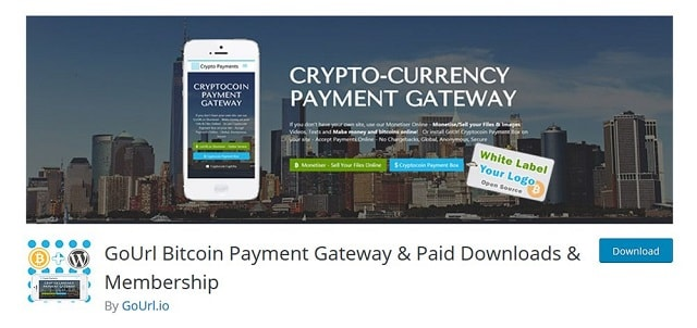 Plugin GoURL Bitcoin Payment Gateway