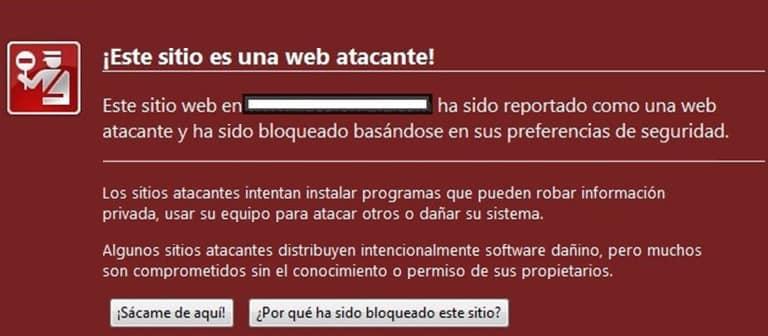 Herramientas de monitorización web Google Malware