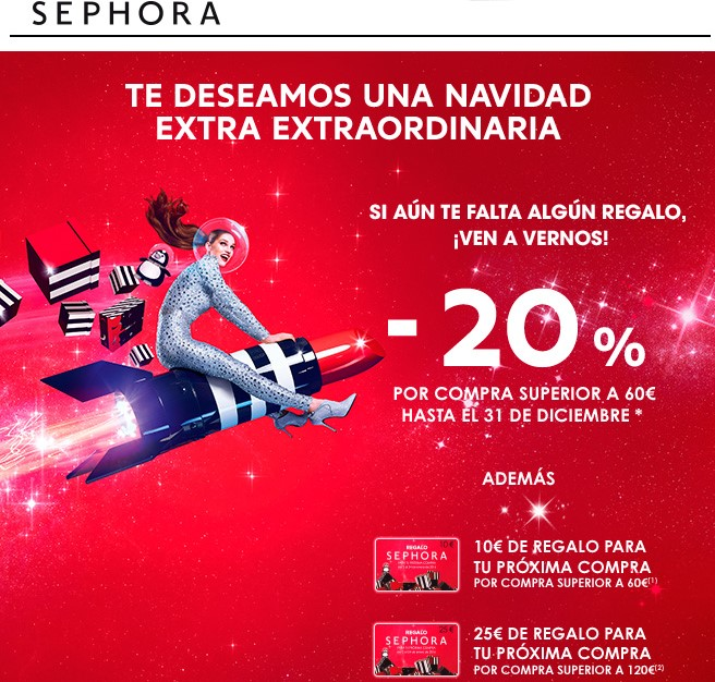 Ejemplo de email marketing para Navidad