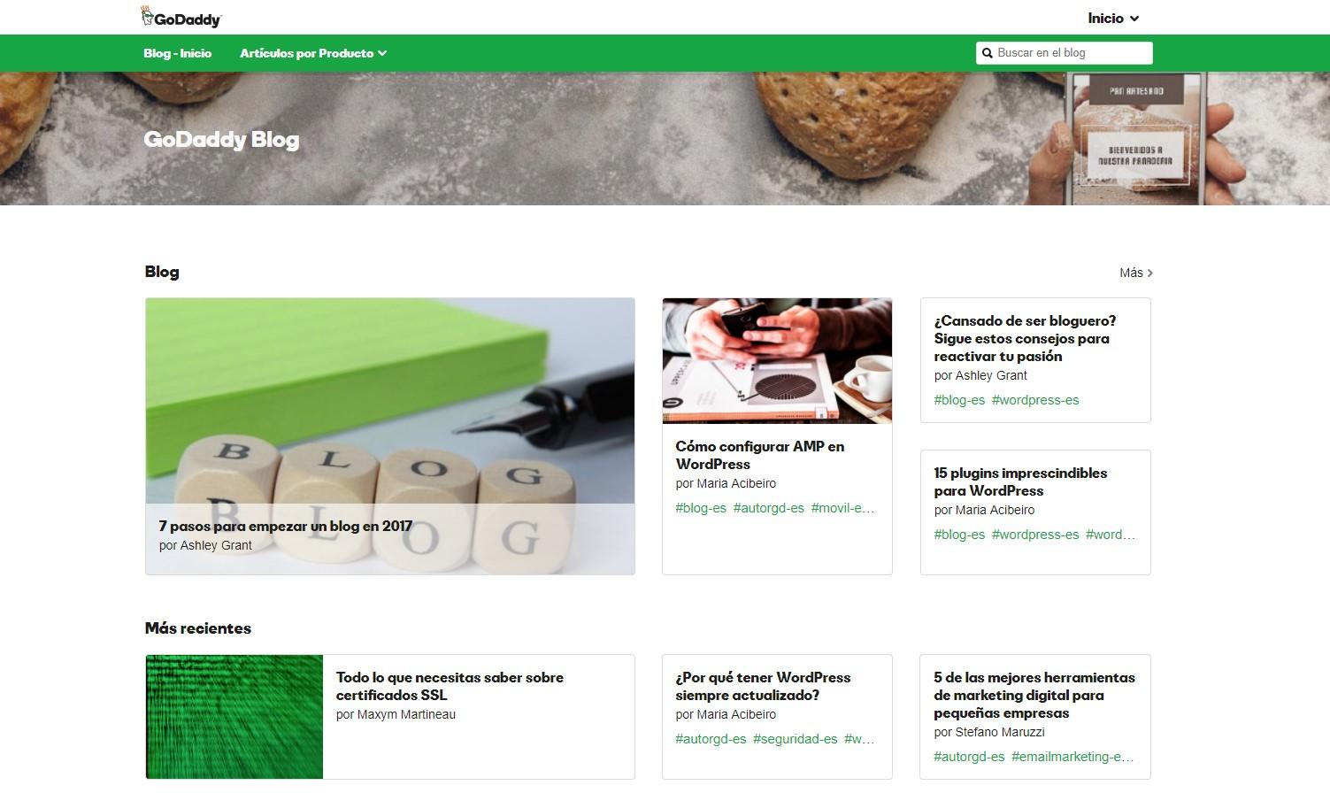 Empezar un blog para promocionar una página web
