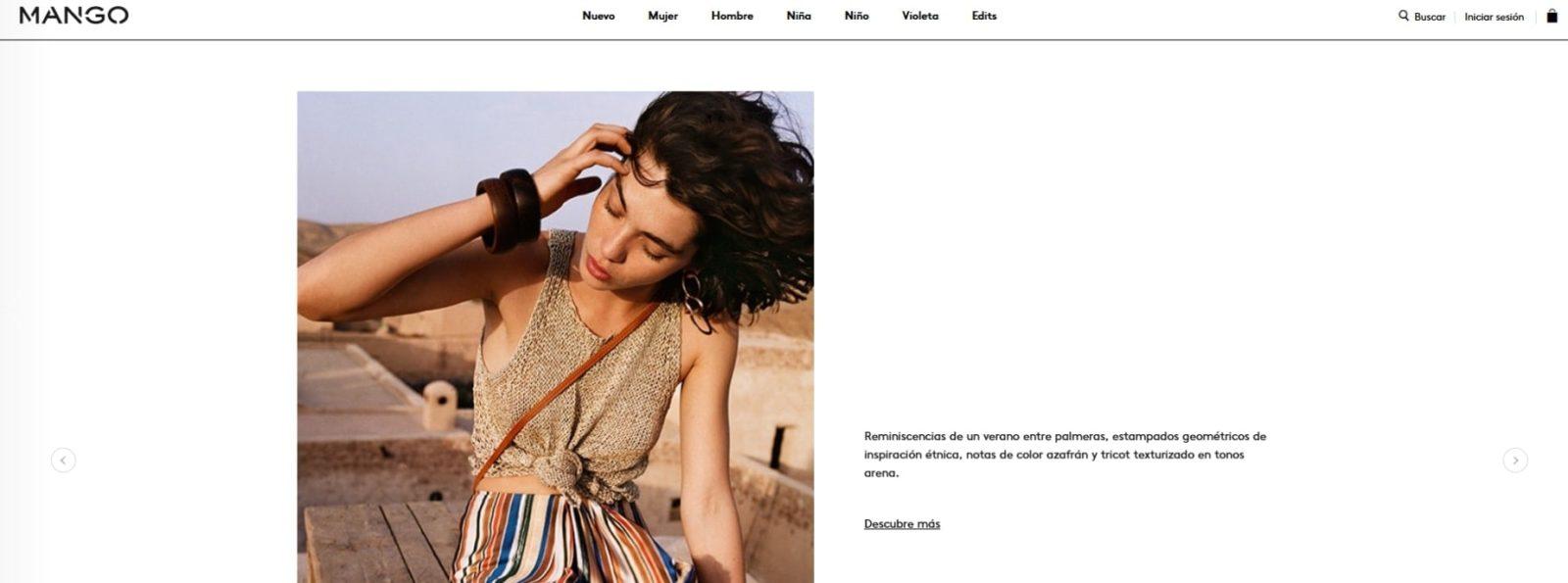 Ejemplo de elegancia en diseño web