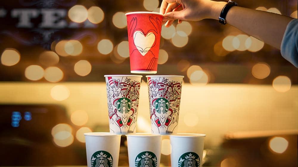 Estrategias de marketing digital para Navidad Starbuks