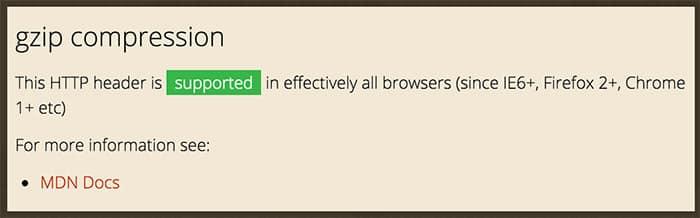 Compresión y compatibilidad en navegadores