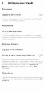 Cómo incluir el texto alternativo de Instagram