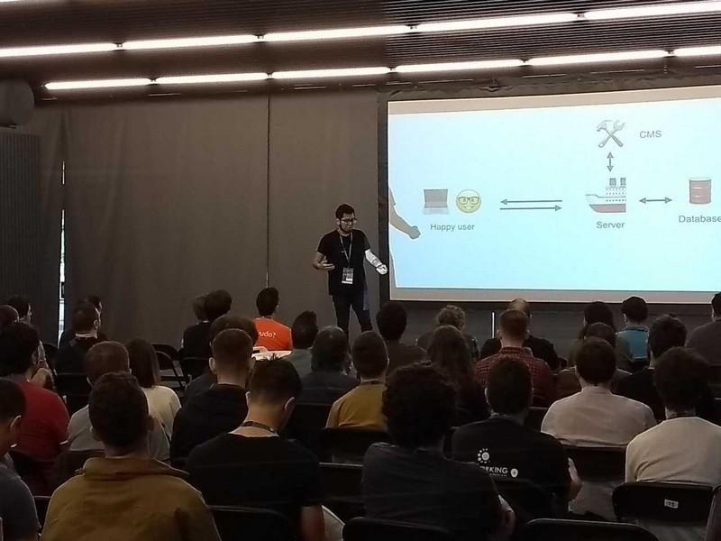 Ponencia de Jepser Bernardino en la WordCamp Madrid 2018