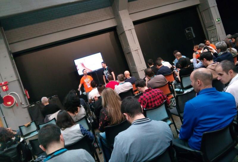 Ponencia de Juan Hernando en la WordCamp Madrid 2018