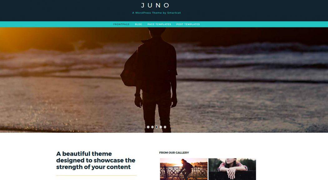 juno plantillas gratis landing pages