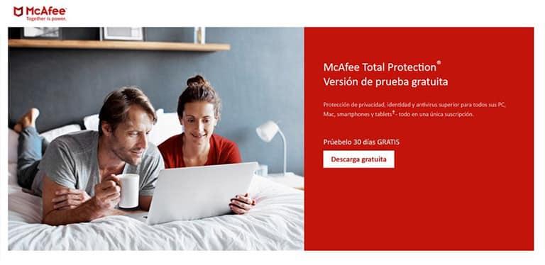 Herramientas de monitorización web McAfee