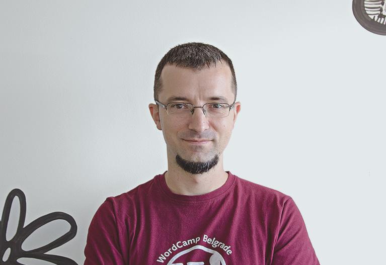 Nemanja Aleksic, director de marketing de GoDaddy Pro