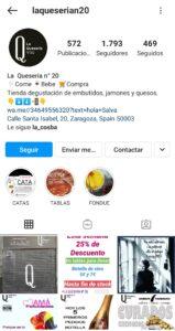 Optimizar la biografía de Instagram