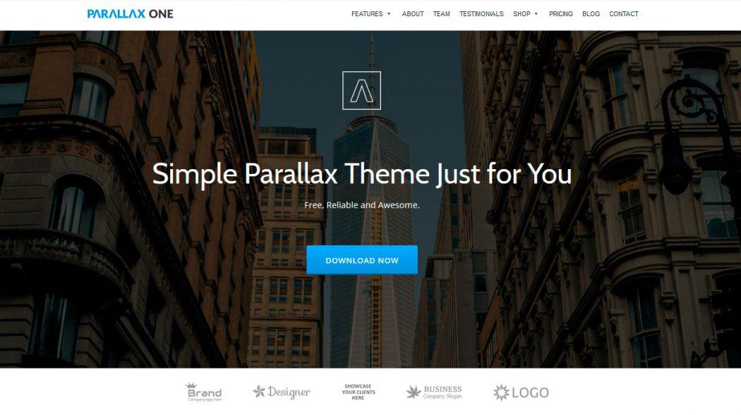 Parallax plantillas landing page gratis