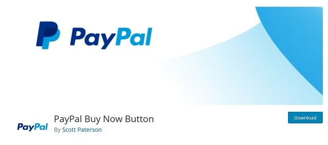 Plugin PayPal Buy Now Button