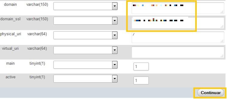 phpMyAdmin WordPress_metodo2_cambiar URL