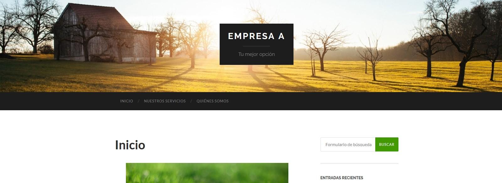 Mejores plantillas gratis de WordPress Hemingway