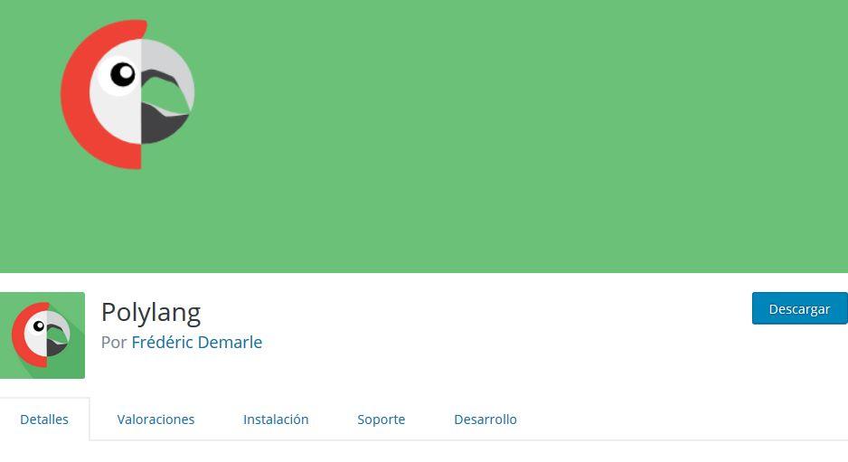 Polylang, uno de los mejores plugins para idiomas en WordPress, con versión gratuita y de pago