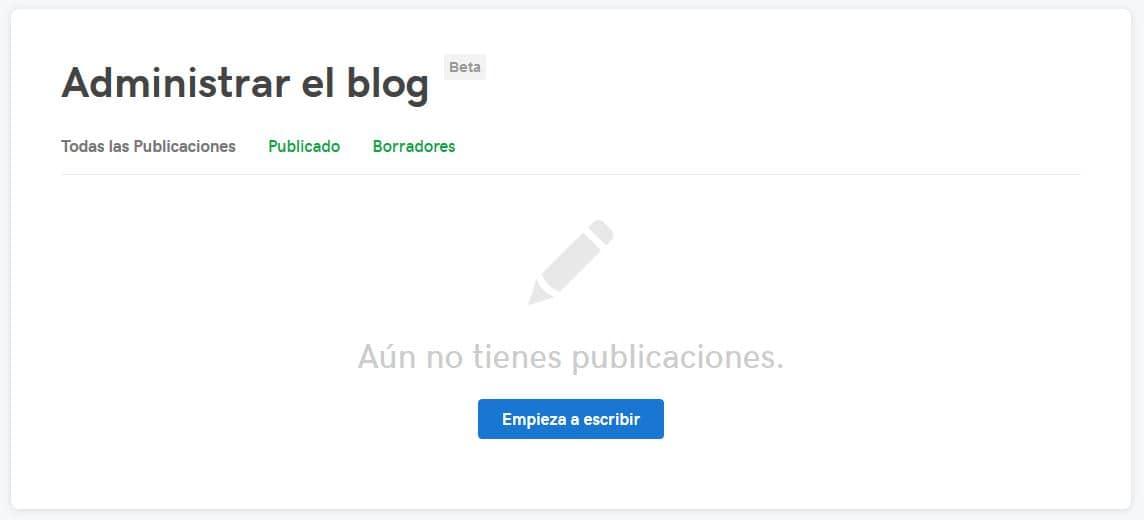 publicaciones blog