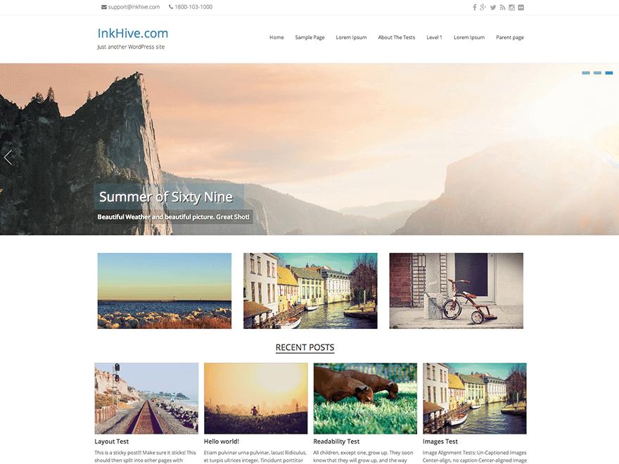 Seller WordPress plantilla gratis