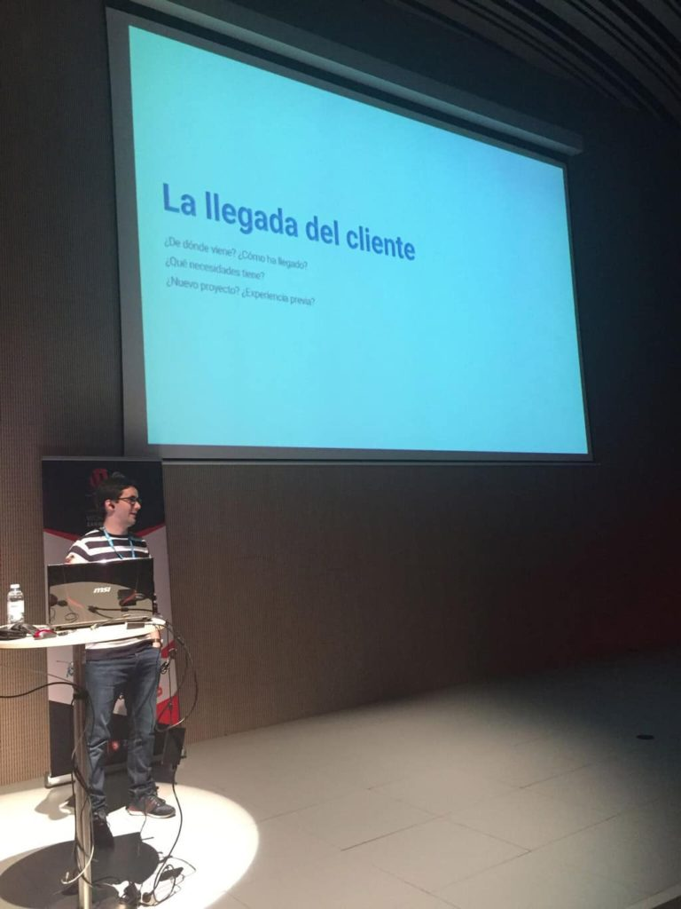 WordCamp Zaragoza 2018 Darío