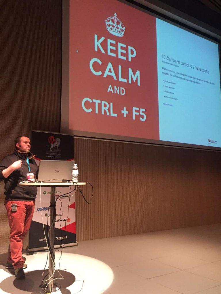 WordCamp Zaragoza 2018 Pablo López