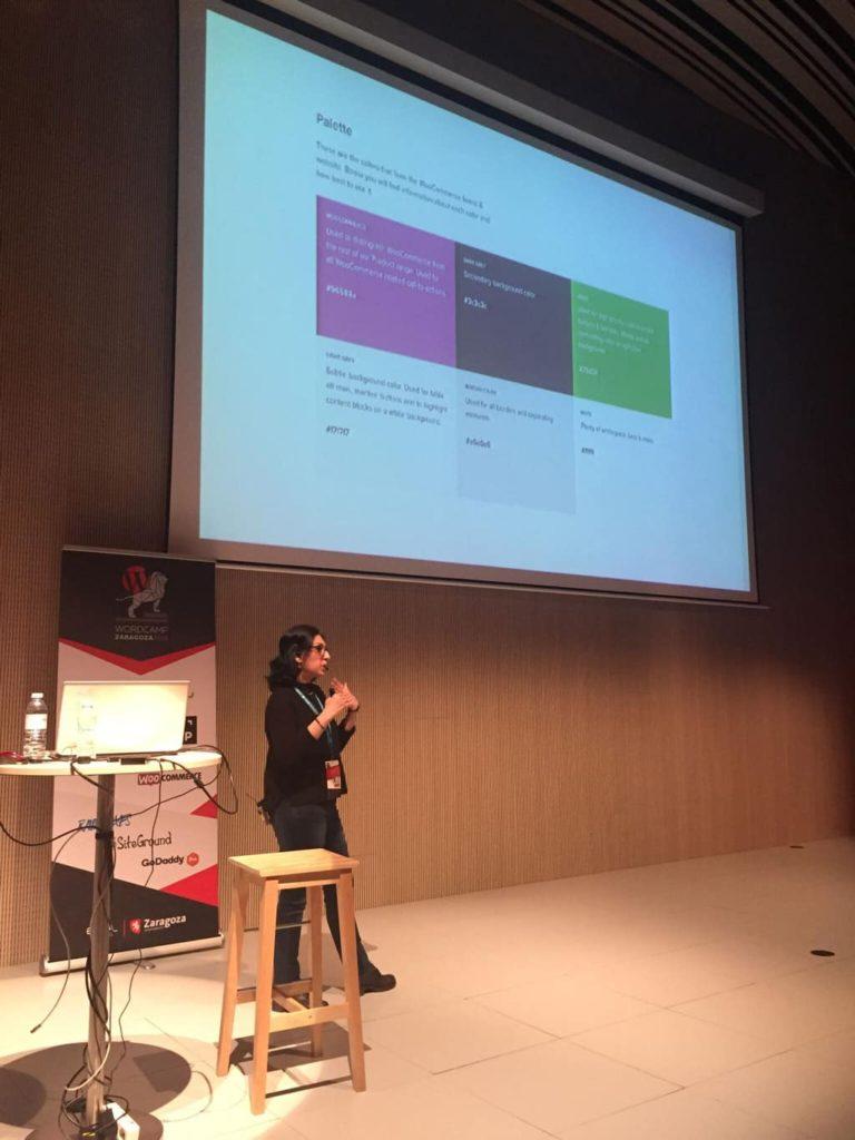 WordCamp Zaragoza 2018 Raana Heyrati