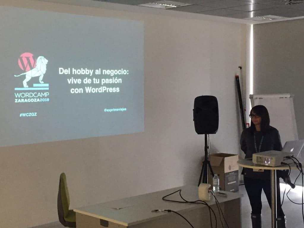 WordCamp Zaragoza 2018 Vanesa Gómez