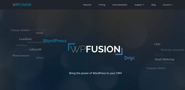 wordpress crm wpfusion